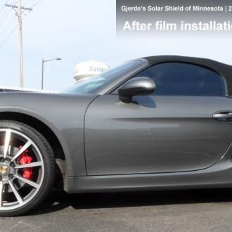 Boxter Porsche with window tint