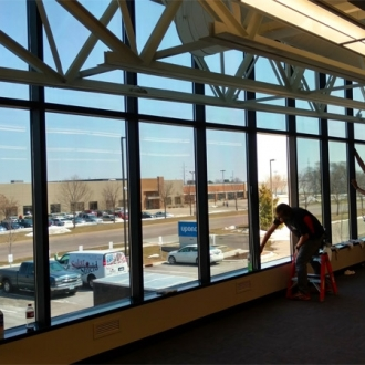 Uponor with window tint.