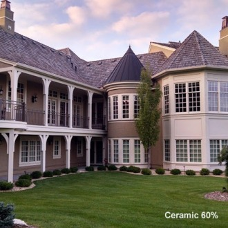 Ceramic film to protect your home with a clear view.