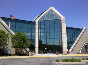 Building with window tinting in Minneapolis, MN